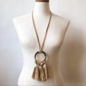 Jewelry - NEW Bohemian Dream Catcher Tassel Long Necklace